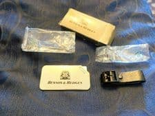 BNIB VINTAGE BENSON & HEDGES PROMOTIONAL LUGGAGE BAG TAG WITH STRAP